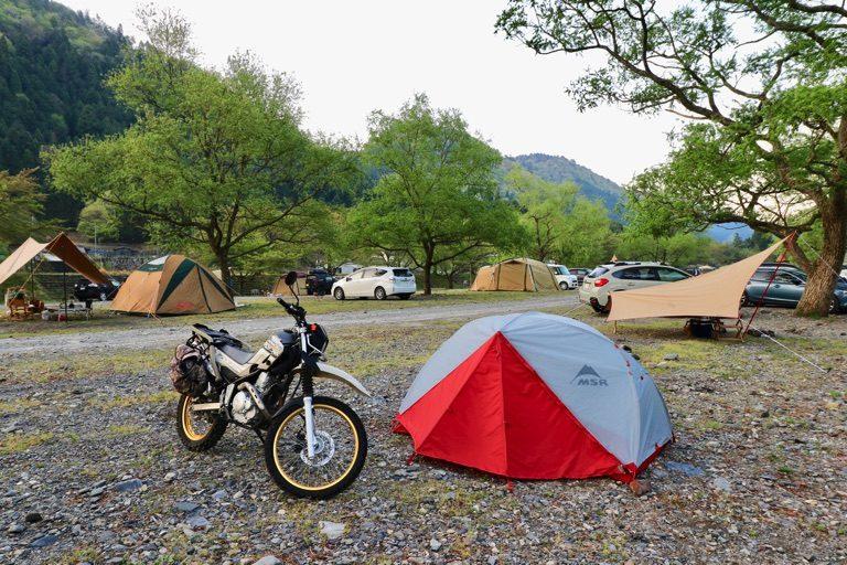 朽木キャンプ場(桑野橋河川公園)