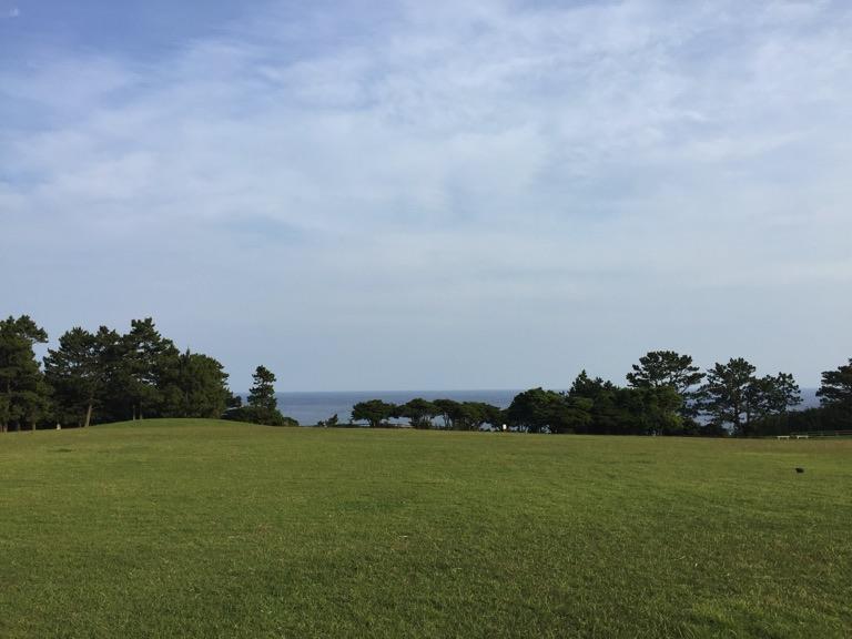 潮岬 望楼の芝キャンプ場
