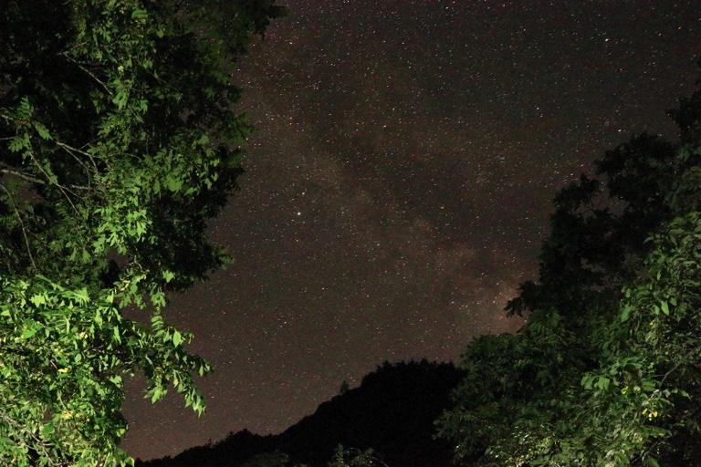 蛇石キャンプ場 星空