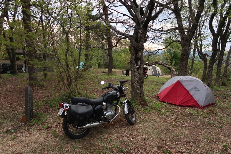 刈安山キャンプ場